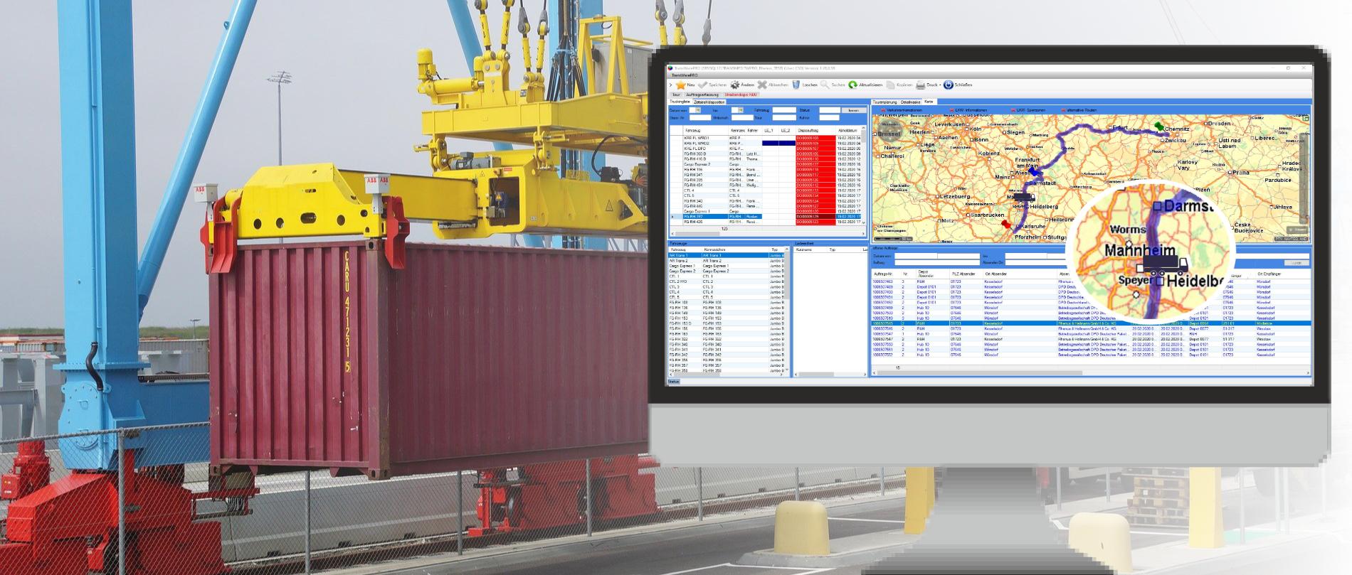 Logistik-Auftrag & Dispostion von CSD Logistik und Transport Software