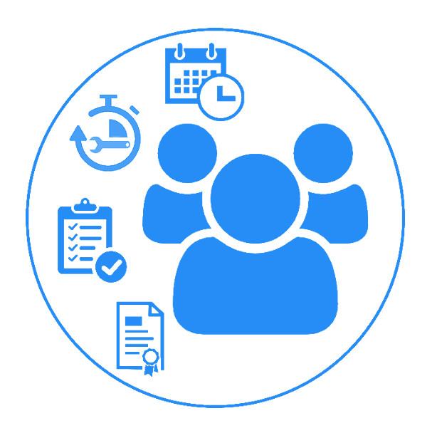 CSD Logistik Mitarbeiter Management von CSD Logistik und Transport Software
