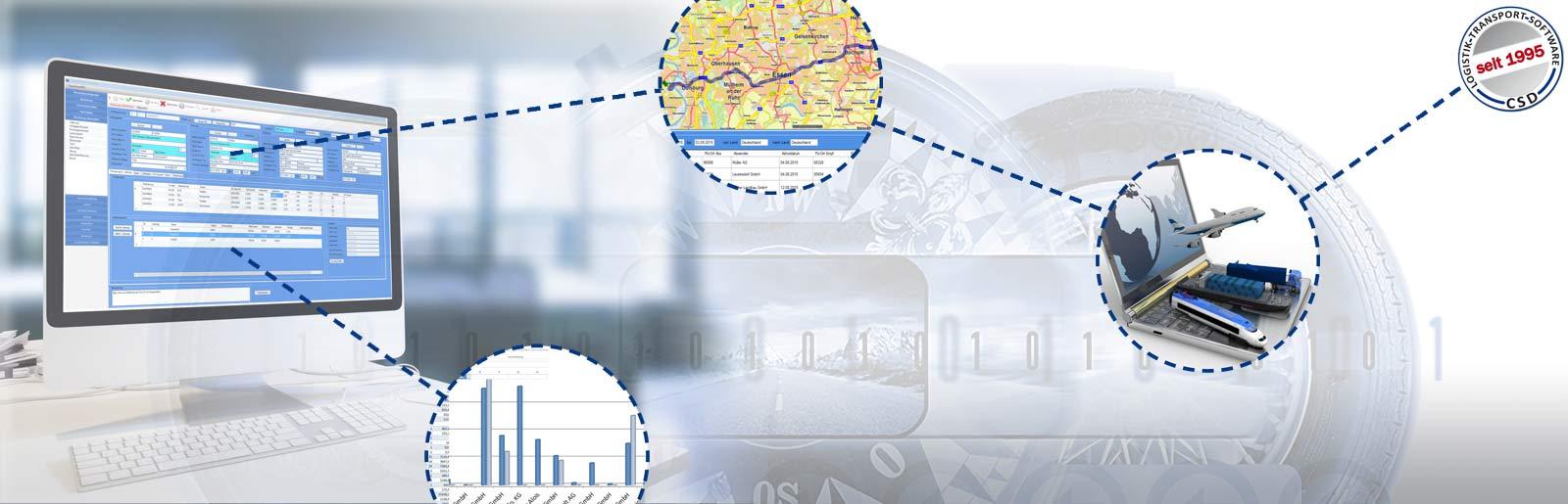 Willkommen von CSD Logistik und Transport Software