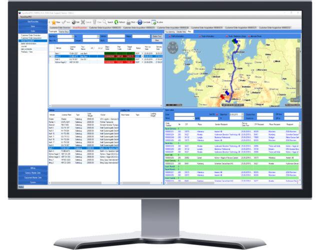 Transport Management System Online Demo von CSD Logistik und Transport Software